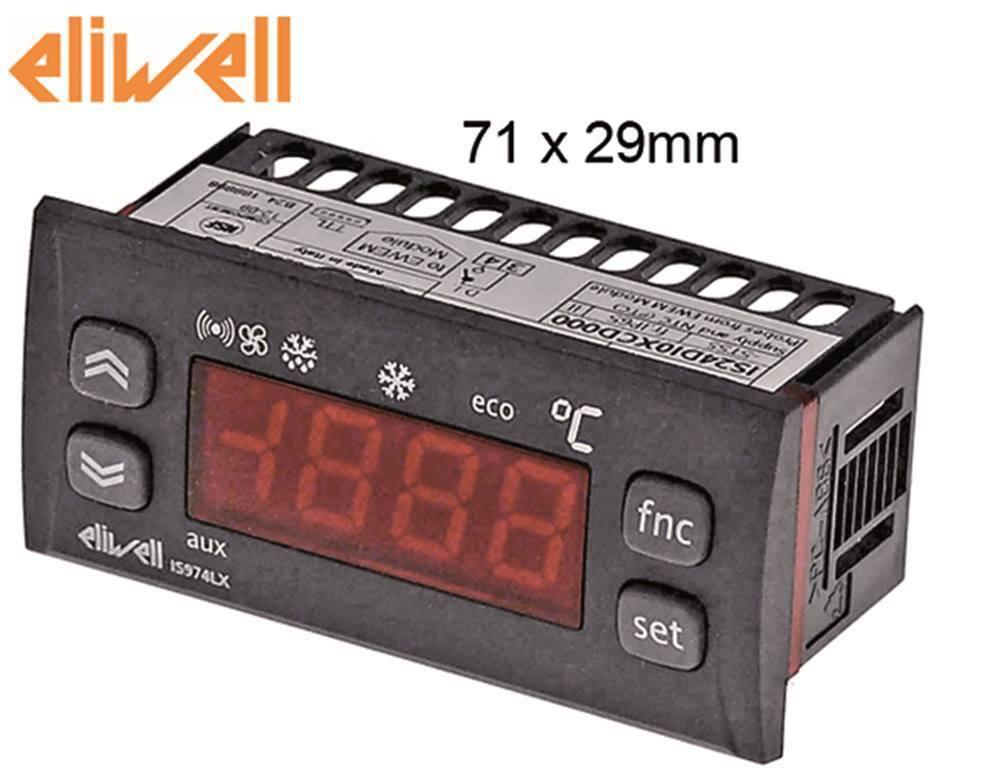 Eliwell Is974lx Elektronikregler para Refrigeración la Cimbali 102028 ,
