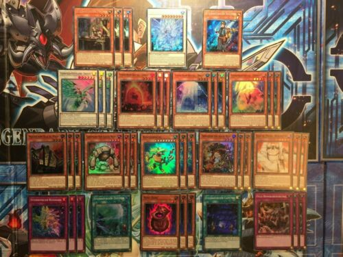 de! NEAR Comme neuf Holo Pierre Libérateurs Deck 46 cartes complet Sesl Yugioh!!