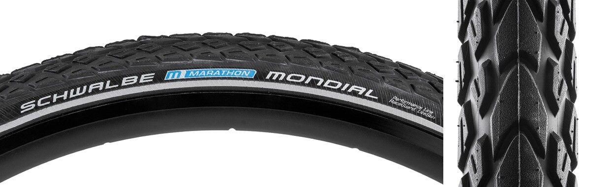 Schwalbe Tires Marathon Mondial Raceguard 26X2.0 Bk Bsk Ref Ec E-Bike-25Kph Wire
