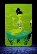 "Tiki Drink Card Retro Postcard Style Art NEW SHAG Rare 2004 /""TSUNAMI COOLER/"""