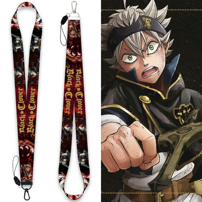 Anime Black Clover Asta Cosplay Phone Strap Mobile Phone Rope Hanging Wire