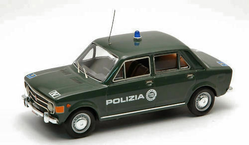 Fiat 128 Italian 4 Doors Italian 128 Police 1969 1:43 Model RIO4182 RIO 0a8dfa