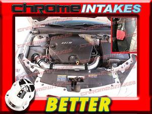 NEW 06 07 08 09 CHEVY MALIBU//PONTAIC G6 3.9 3.9L V6 FULL AIR INTAKE KIT RED