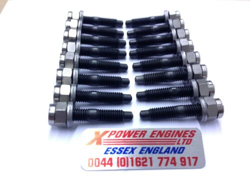 WASHERS X 16 SIERRA ESCORT 2WD 4WD RS COSWORTH EXHAUST MANIFOLD STUDS NUTS