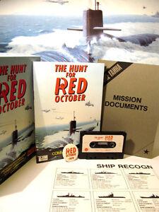 ZX Spectrum 48k Kassette Spiel -- Die Jagd auf Roter Oktober -- 1985