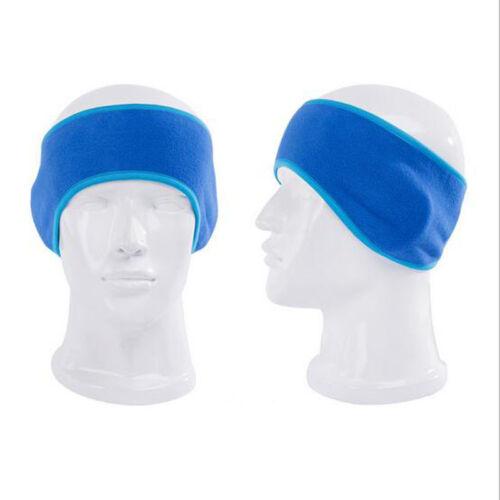 Fleece Headband Fashion Winter Mens Womens Stretchy Earband Earmuffs Ear Warmers