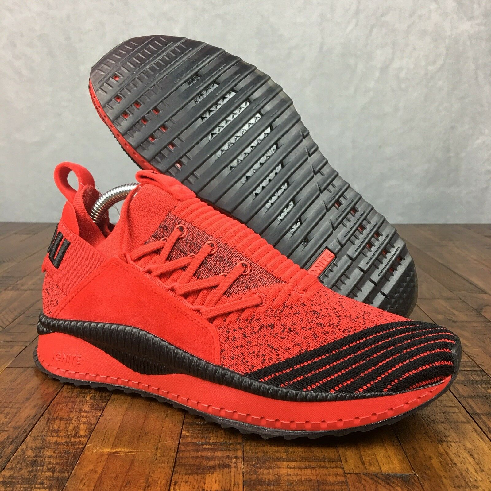 PUMA x FUBU Tsugi Jun shoes Sneakers High Risk Red Black 36744001 Mens Size 9.5