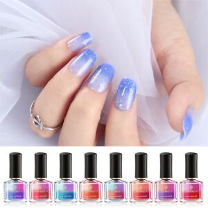 8-Bottles-6ml-BORN-PRETTY-Peel-Off-Color-Changing-Sunlight-Sensitive-Nail-Polish