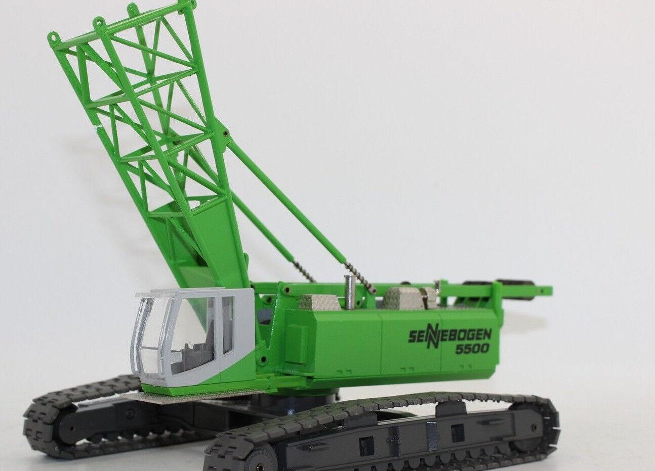 Conrad 2733 02 Sennebogen Starlifter 5500 Crawler Crane 1 50 Nip