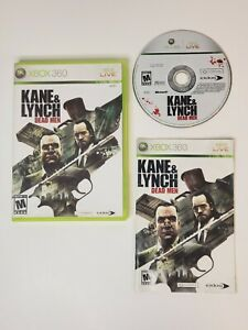 Kane & Lynch Dead Men — Complete! Damaged Case -  Fast Shipping (Xbox 360 2007)