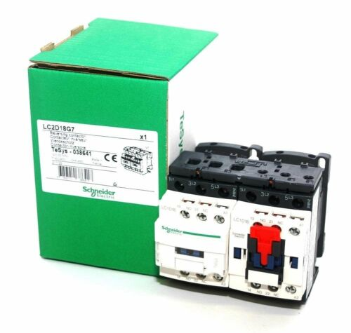 LC2D18G7  Schneider Electric Reversing Contactor **NIB**