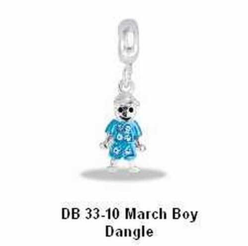 DaVinci Month of March Bead or Dangle Selection Choice of 1 or More