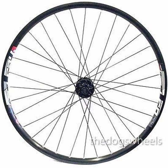 26  Mountain Bike MTB Front Disc Wheel 20mm Bolt Through Formula Hub Mach 1 Rim