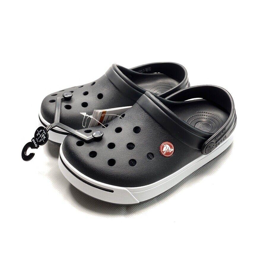 Crocs Classic Clog Kids Boys Girls Casual Comfy Slip On Navy