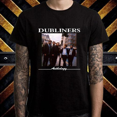 The Dubliners Anthology Album Cover Mens Black T-Shirt Size S M L XL 2XL 3XL