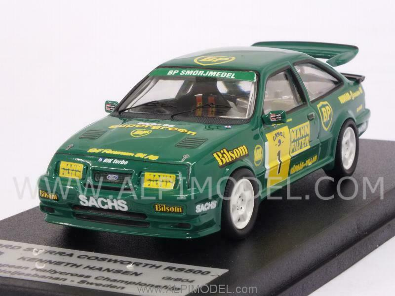 Ford Sierra Cosworth RS500 Winner European Rallycross Champ 1 43 TROFEU GRB04