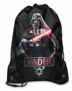 Humoristique Chaussure Sac Turnsack Star Wars Dark Vador Cordon De Serrage-afficher Le Titre D'origine Acheter Maintenant