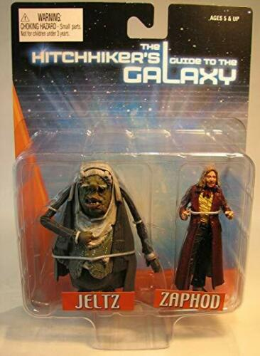 NECA Les stoppeurs Guide to the Galaxy Zappy JELTZ Action figures Toys 84145