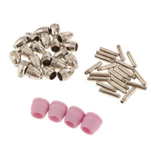 100pc Plasma Tip Nozzle Consumables Air Plasma Cutter Suit Kit for Cutting Torch