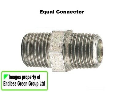 MALE ADAPTOR 1//4 BSP  790 PCL Air Compressor hose fitting fits in a coupling