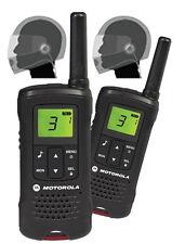 Motorola TLKR T61 PMR446 Walkie Talkies & Full Face Motorcycle Bike Headsets