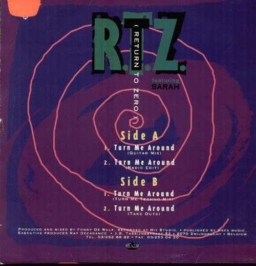 R.t. Z Turn Me around, Feat. Sarah - Decadance