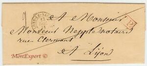 France Stampless Cover 1841 Lons Le Saulnier à Lyon-fresh-afficher Le Titre D'origine