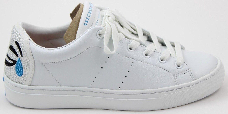 Skechers Street Women's Side Street-TEARS OF JOY 73546 White Brand New
