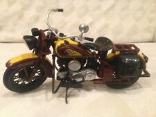 Vintage Bike Indian Chief Sport Scout Motorcycle 1:12 Die Cast By New Ray Toys