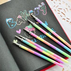 20-Pcs-Multicolore-Arc-en-Ciel-Surligneur-Gel-Stylo-Peinture-Graffiti-Pratique