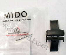 Original MIDO Ocean Star Model M026430A Black Rubber Strap Band w// Clasp Buckle