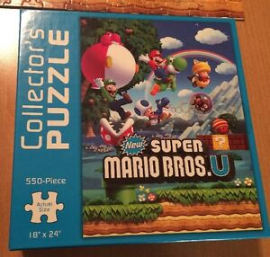 Collector's Puzzle Super Mario Bros. U 550 Piece Puzzle