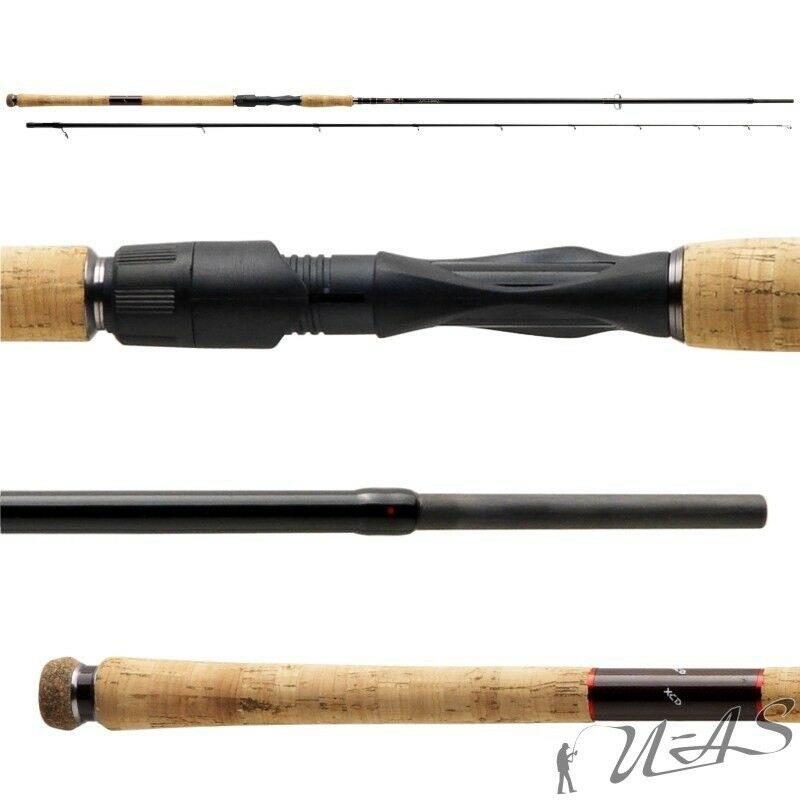 Berkley Pulse XCD 802mh 10-50g Spin Rod ultra sottile Persico & Hecht stadia SHA