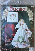 Bucilla Nicole Stamped Embroidery Christmas Doll #83105 Complete Kit New Craft Supplies