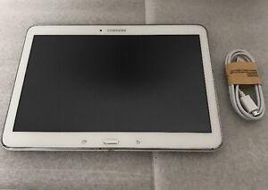Samsung-Galaxy-Tab-4-SM-T530NU-16GB-Wi-Fi-10-1in-White-Works-Great-Tablet