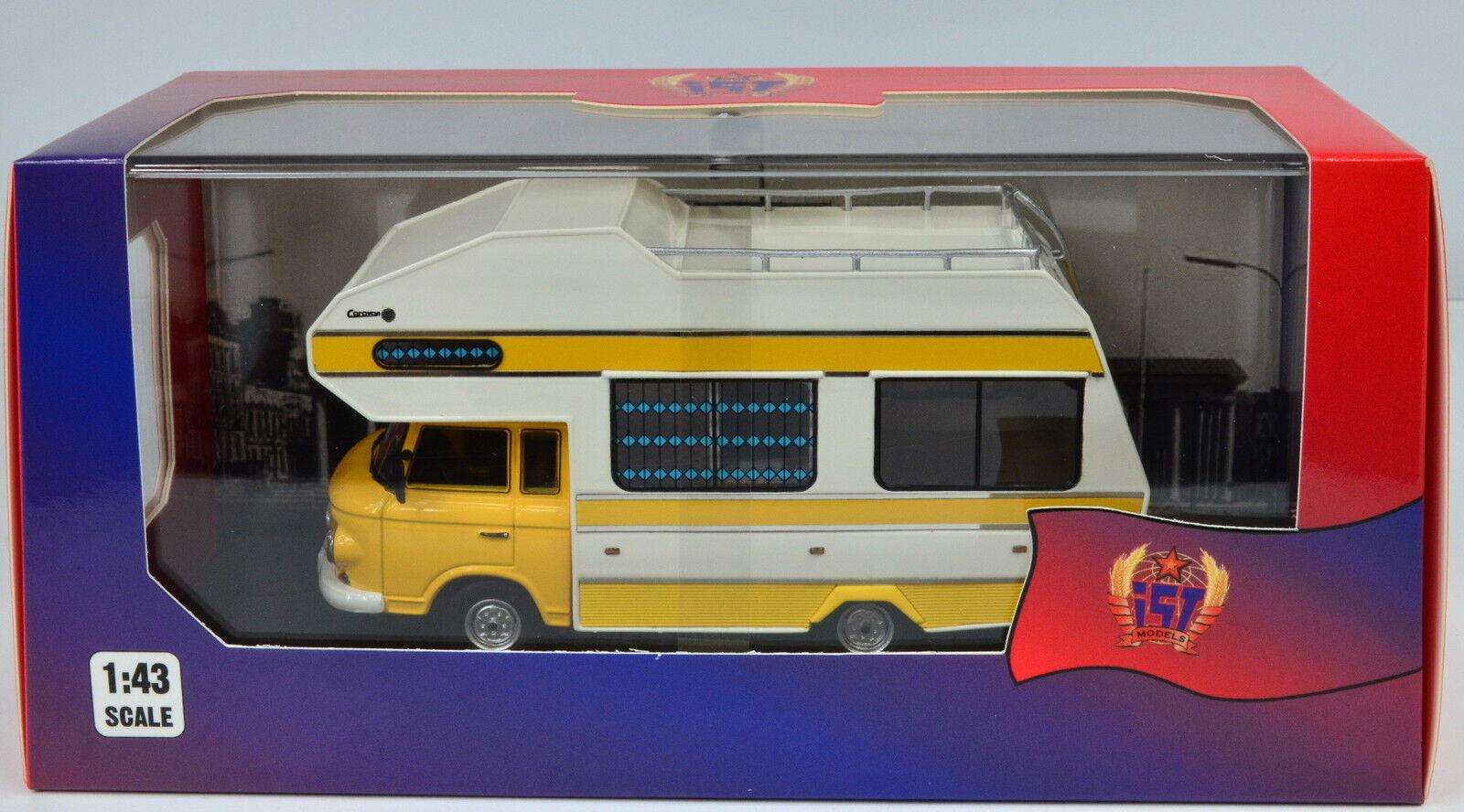 Barkas b1000 camping-car année modèle 1973 en 1 43 de est la-cast model