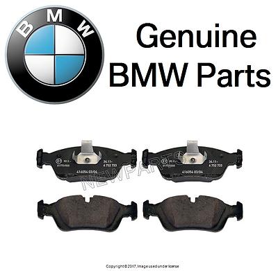 Genuine BMW Brake Pads 34-11-6-761-244