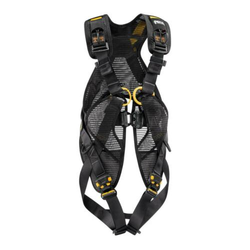 Petzl Newton Easyfit International Version Harness Black//Yellow Size 1