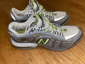 Running Shoes. Size 8.5 Silver/ White