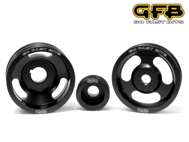 GFB Lightweight Underdrive Crank Alt PAS Pulley Set Fits Impreza WRX STi 93-98