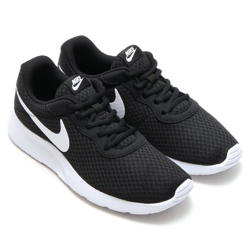 Men's Men's Men's Nike Tanjun Running shoes Black White 812654 011 5cd4b7