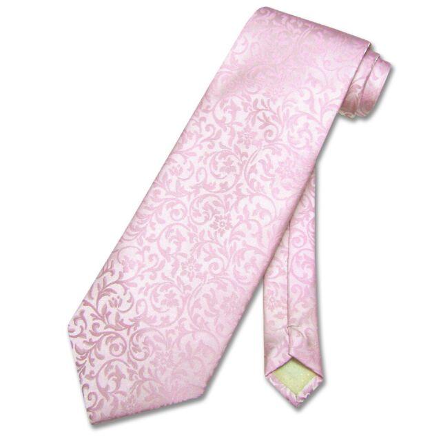 Antonio Ricci Men/'s NeckTie PINK Paisley Design Mens Neck Tie for Tuxedo or Suit