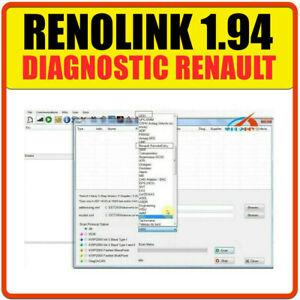 ✅ Logiciel RENOLINK 1.94 - Version Officielle DDT2000 MULTIDIAG DDT 2000