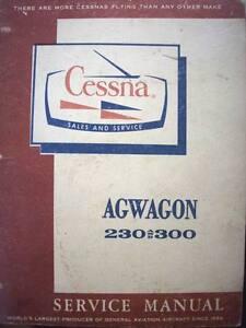 Cessna-AgWagon-230-300-Service-Manual-1966