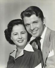 AUDIE MURPHY & PAMELA ARCHER, Husband & Wife Original Vintage CANDID Photo 1956