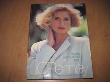 Vintage JC Penney Spring & Summer 1990 Catalog