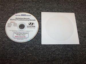 2005 Hyundai Tucson Electrical Wiring Diagram & Shop ...