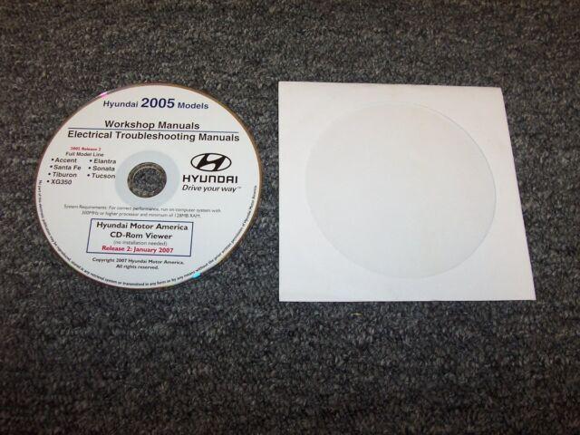 2005 Hyundai Tucson Electrical Wiring Diagram  U0026 Shop