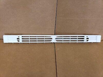 WR74X10151 GE REFRIGERATOR TOE KICKPLATE GRILLE