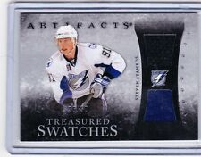 10-11 2010-11 ARTIFACTS STEVE STAMKOS TREASURED SWATCHES BLUE JERSEY PATCH /50